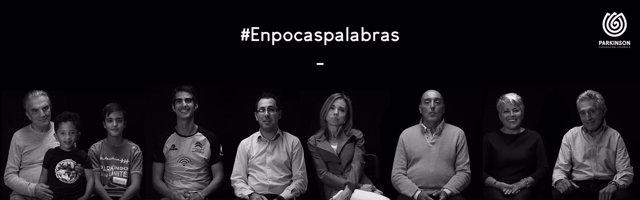 Campaña #Enpocaspalabras de la Federación Española de Parkinson
