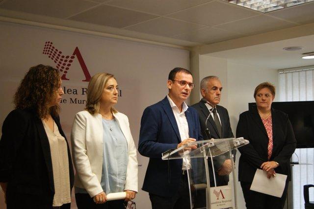 EMILIO IVARS EN RUEDA DEL PSOE EN ASAMBLEA