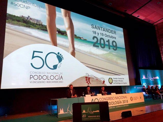 Presentación de la 50 edición del Congreso Nacional de Podología