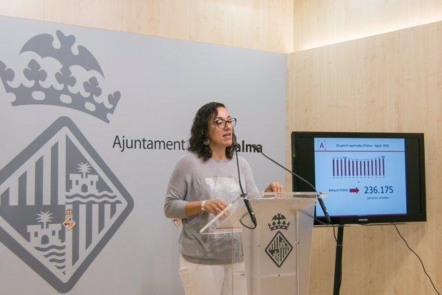 La regidora de Trabajo, Joana Maria Adrover