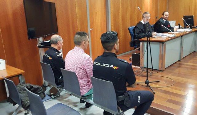 Juicio guardia civil por el accidente de mayo de 2014