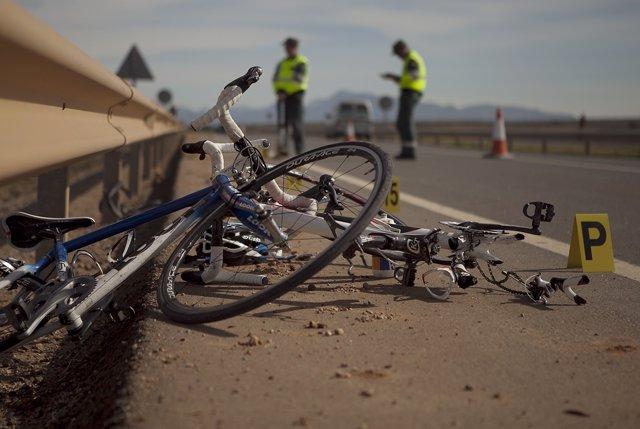 Accidente en Campillos en el que murieron dos ciclistas