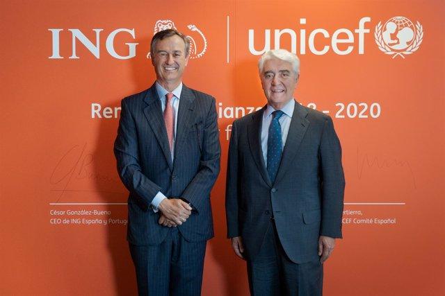 ING renueva su alianza con UNICEF