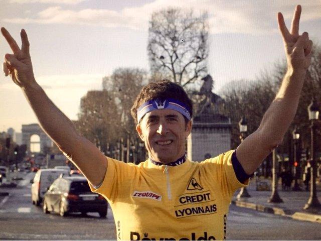 Perico Delgado en París
