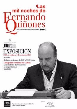 Cartel de 'Las mil noches de Fernando Quiñones'