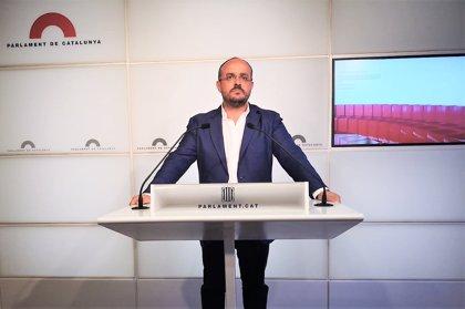 Alejandro Fernández anuncia su candidatura a presidir el PP catalán