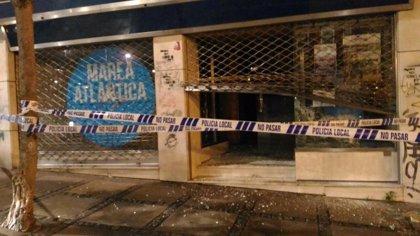 Detenido un hombre acusado de los daños en la sede de Marea Atlántica tras el desalojo en mayo de 'A Insumisa'