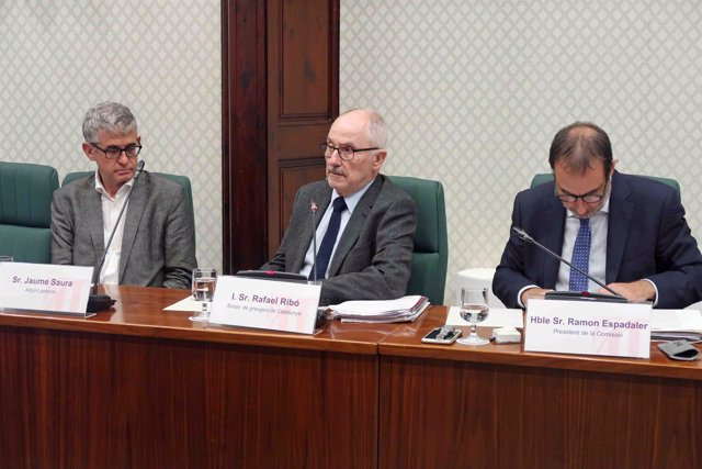 Comparecencia del Síndic de Greuges, Rafael Ribó, en la comisión del Parlament