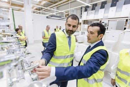 El alcalde de Almería destaca la creación de 215 puestos de trabajo con las nuevas instalaciones de Leroy Merlin