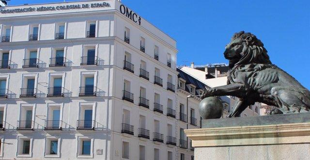 Fachada de la Organización Médica Colegial de España