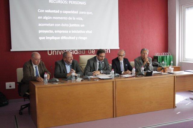 Inauguración de la jornada 'Gobernanza y política universitaria'.