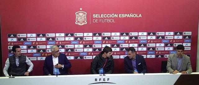 Emery, Manzano, Pochettino y Luis García Plaza