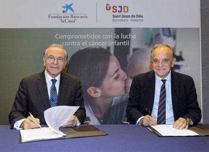 La Caixa destina 3 millones al nuevo centro de cáncer infantil del Hospital Sant Joan de Déu