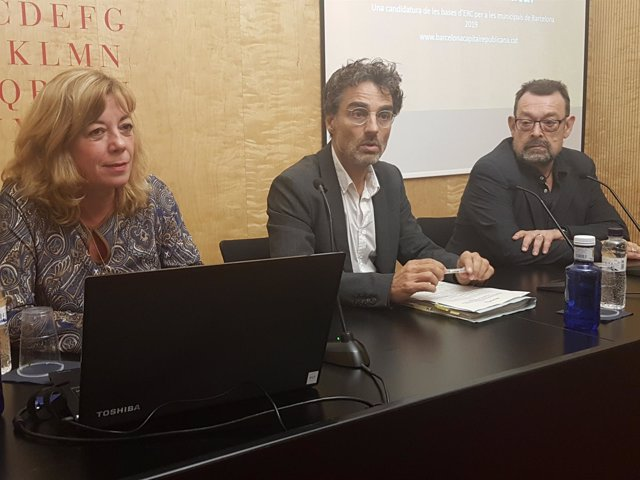 Mati Duque, Xavier Martínez-Gil y Manuel Pérez Nespereira