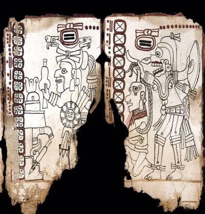 ¿Sabes cómo es un Códice Maya original?