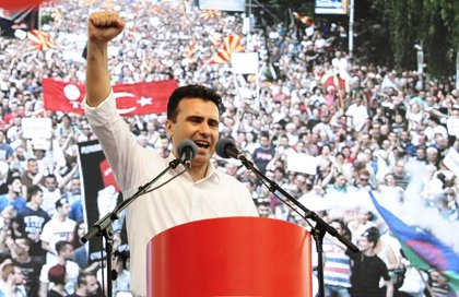 El Gobierno de Macedonia envía al Parlamento el acuerdo con Grecia sobre el cambio del nombre del país