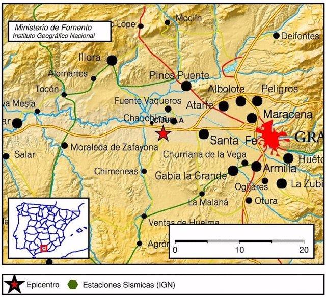 Terremoto con epicentro en Santa Fe