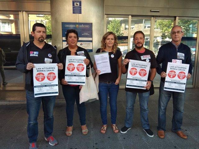 Sindicatos registran la convocatoria de huelga en la concertada
