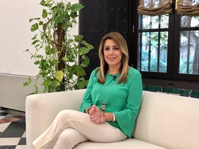 Susana Díaz, este martes