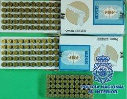 Marbella detenidos por arma de fuego red criminal extorsiión expolosivos