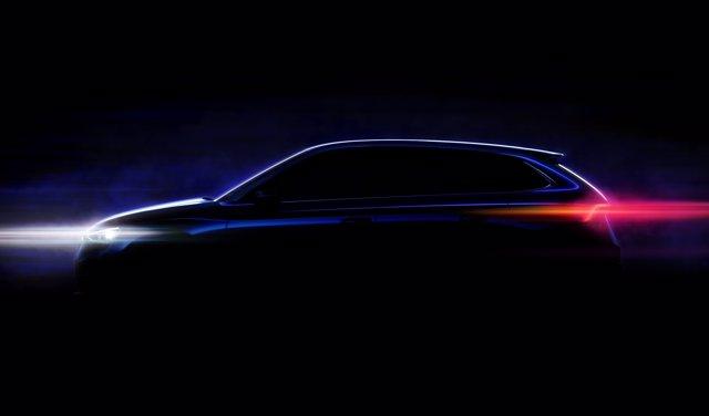 Imagen promocional del nuevo modelo compacto de Skoda