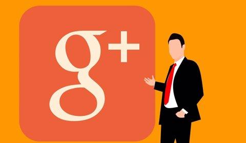 Google+ logo, recurs