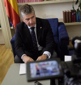 Entrevista de Ignacio Cosidó a Europa Press en el Senado
