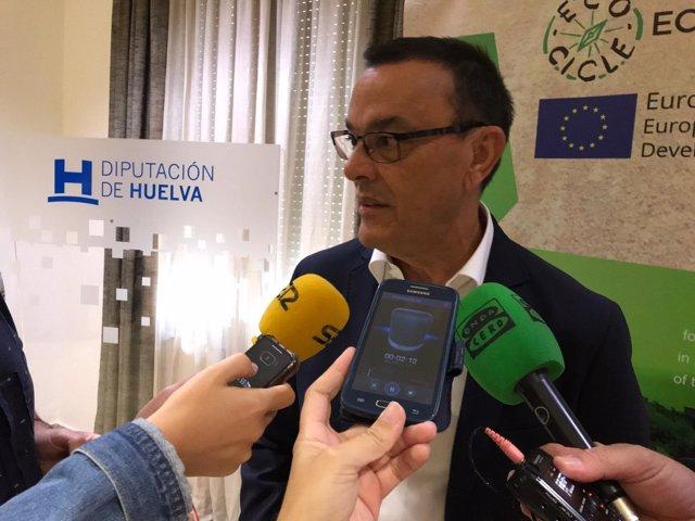 El presidente de la Diputación, Ignacio Caraballo.
