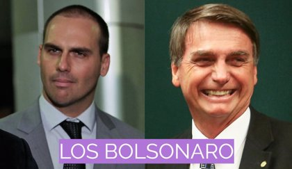 Eduardo Bolsonaro: de tal palo, tal astilla