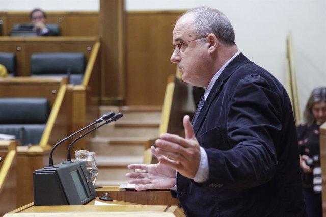 Foro de archivo de Joseba Egibar en el Parlamento Vasco