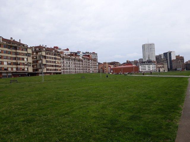 Solarón de Gijón. Plan de vías
