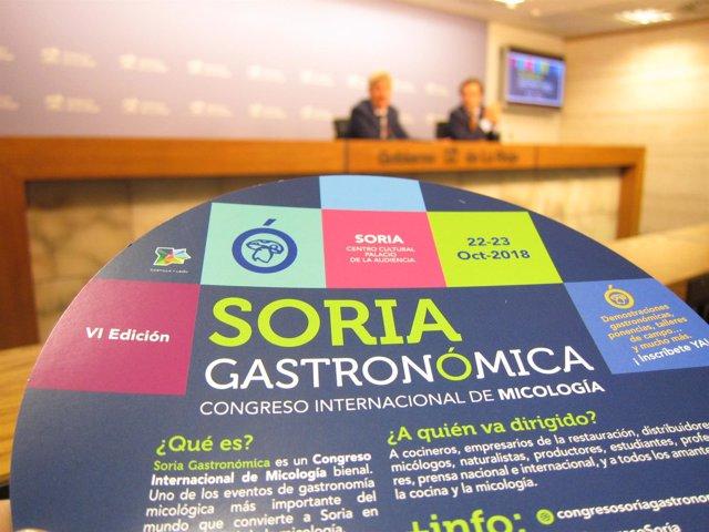 Presentación Feria Soria Gastronómica