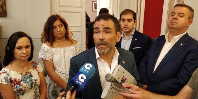 Imagen de archivo José López, concejal MC