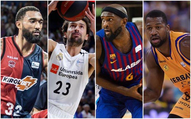 Baskonia, Real Madrid, Barcelona y Gran Canaria disputarán la Euroliga