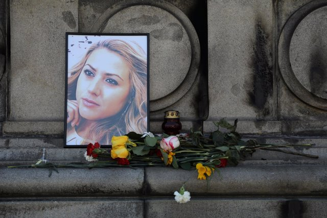 Homenaje a la periodista Viktoria Marinova en Ruse