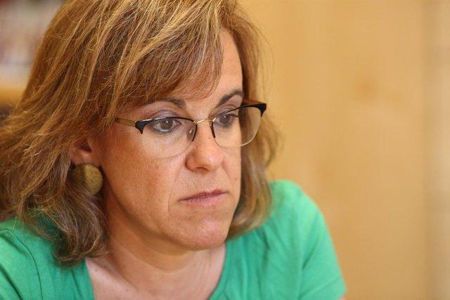 Entrevista de Europa Press con Purificación Causapié