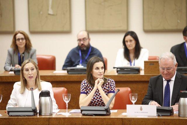 La Reina doña Letizia preside el acto para conmemorar el Día Mundial de la Salud