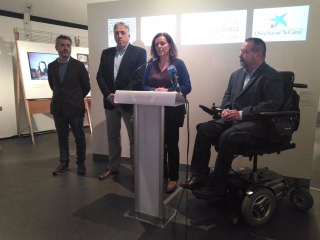 Inauguración de la exposición sobre el Guernica de Picasso