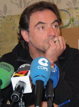 El director general de Cultura del Ayuntamiento de Zaragoza, Saúl Esclarín