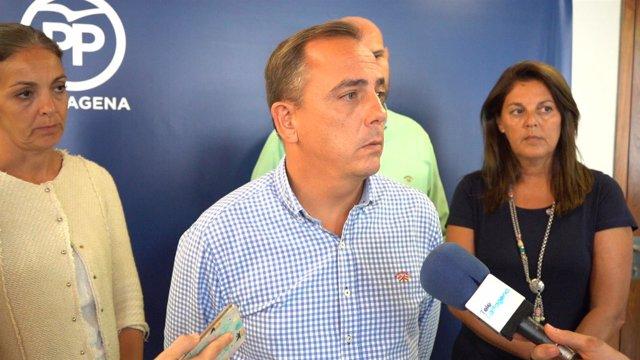 El portavoz popular Francisco Espejo
