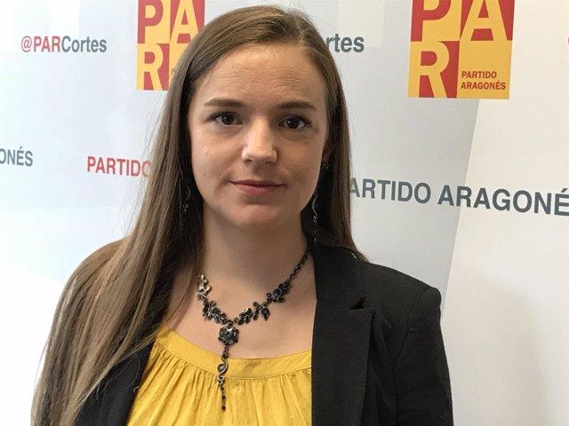 Lucía Guillén, diputada del PAR