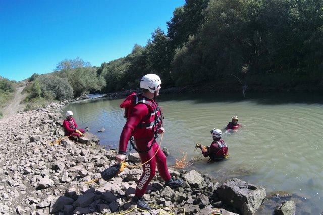 Rescate en ríos