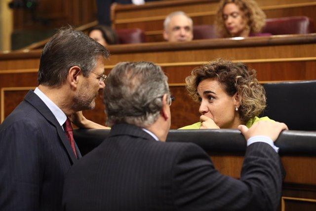 Rafael Catalá, Juan Ignacio Zoido  y Dolors Montserrat