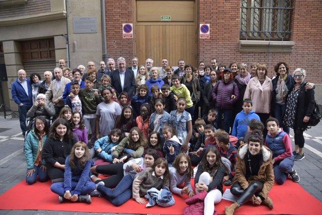 Acto de reconocimiento a la escritora Carmen Baroja y Nessi en Pamplona