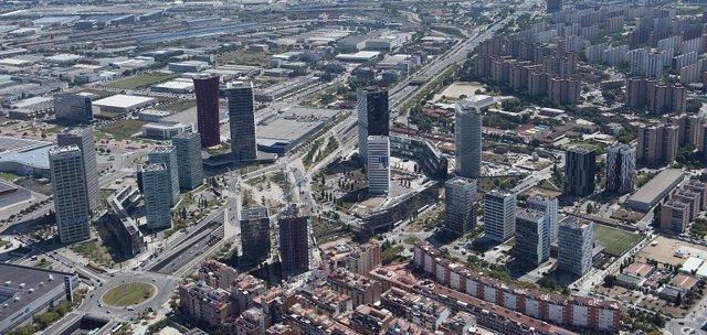 Plaza Europa de L'Hospitalet de Llobregat
