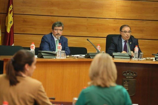Antonio Luengo, director Agencia del Agua C-LM en Cortes