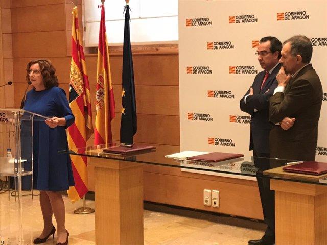Gobierno de Aragón y Endesa destinan 75.000 euros a Ecodes