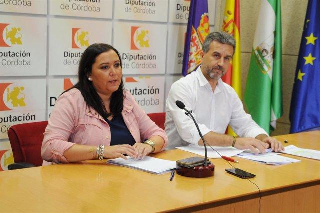 Carrillo y Sánchez en rueda de prensa