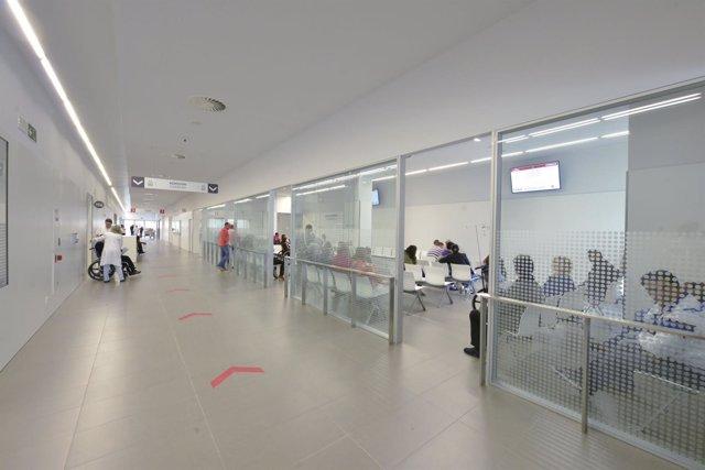 Sala de espera de Urgencias del CHN.