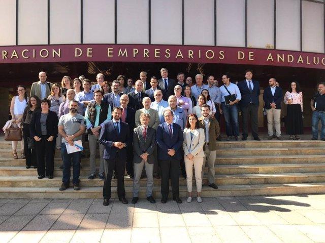 José Fiscal, en la jornada de comunicación sobre el SACE